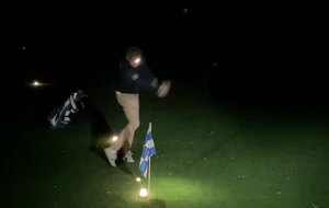 Friday night golf
